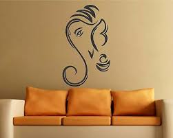 Lord Ganesha Wall Sticker Art Vinyl Decal Mural For Home Room Decor 13 49 Picclick Uk
