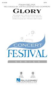 Hal Leonard Glory (from Selma) - Smith /Stephens /Lynn /Brymer - SATB -  Long & McQuade Musical Instruments