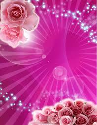 Tarjeta De Invitacion De 15 Anos Fucsia Con Rosas Rosa Gratis