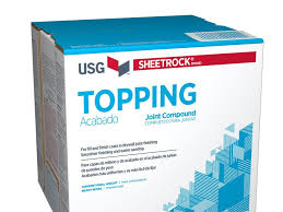 sheetrock brand topping joint compound