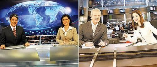 """Resultado de imagem para jornal record jornal globo"""""""
