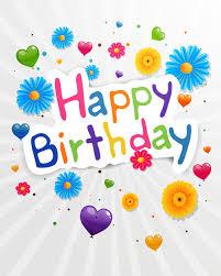 happy birthday greeting cards vector 03
