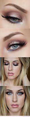 wedding makeup blue eyes blonde hair
