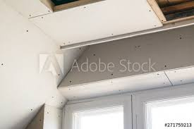 suspended ceiling using wooden frame