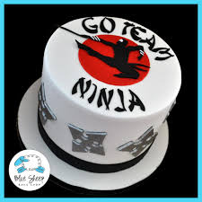 Ninja Birthday Cake – Blue Sheep Bake Shop