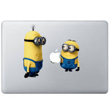 Despicable Me Minions Macbook Decal Kongdecals Macbook Decals