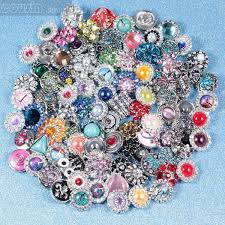 high quality mix many styles 18mm metal