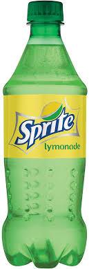 sprite lymonade 20 oz coca cola