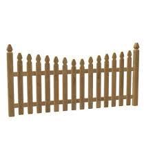 Gothic Wood Fence Free 3d Model Obj Stl Open3dmodel 485927