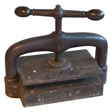Image result for old forged iron press parts