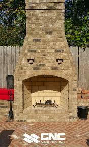 outdoor fireplaces gnc masonry inc