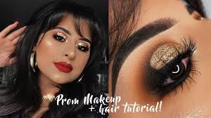 glam prom makeup tutorial 2018
