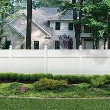 Veranda White Vinyl Windham Fence Panel Common 5 3 4 Ft X 5 3 4 Ft Actual 68 375 In X 68 0 In X 1 82 In Fence Panels Vinyl Fence Panels Backyard Fences