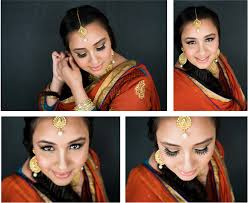 tutorial modest festive makeup by