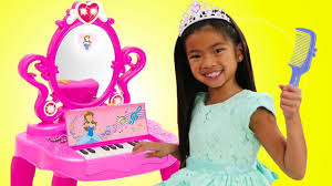 makeup vanity piano play table toy