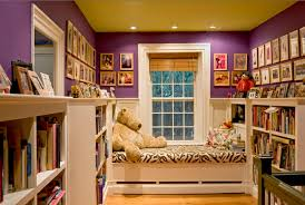 Kids Library And Bedroom Design Id799 Modern Home Library Designs Home Interior Disigns Interior Design