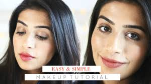 easy simple makeup for office jaisa