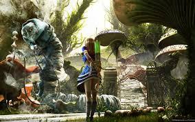 fantasy in alice wonderland