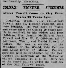 Albert Powell Obit Spokesman Review - Newspapers.com