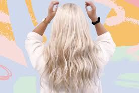 how to go platinum blonde white blonde