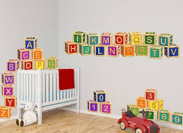 Abc S 123 S Toy Block Wall Decals
