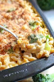 broccoli cheese cerole with ham