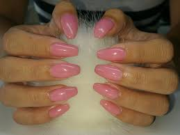 bubble gum pink sculpted gel nails yelp