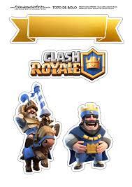 Clash Royale Toppers Para Tartas Tortas Pasteles Bizcochos O