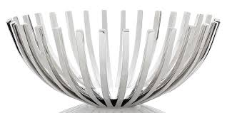amazing stainless steel fruit bowl