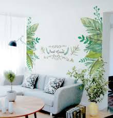Fresh Green Garden Plant Baseboard Wall Sticker Home Decoration Mural Decal Art Ebay