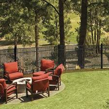 Sheffield Aluminum Fence Panel Aluminum Fence Freedom Outdoor Living For Lowes