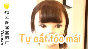 Cắt tóc trẻ em] Cách hướng dẫn cắt mái tương đối dày - YouTube