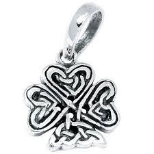 irish shamrock 925 sterling silver