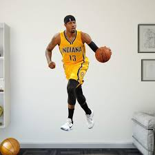 Fathead Nba Indiana Pacers Paul George Wall Decal Indiana Pacers Hayneedle