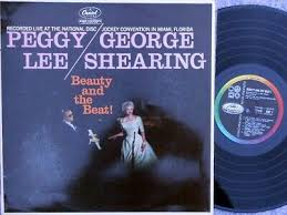 Peggy Lee George Shearing ORIG OZ LP Beauty and the beat! NM '59 Capitol  T1219 | eBay