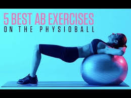 abs exercises on the ility ball