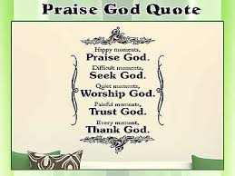 home furniture diy family wall decal quote praise god bible