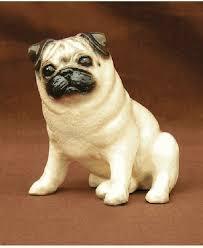 Pug Dog Figurine by Ron Hevener - Shop ...