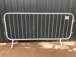 Pedestrian Barriers Crowdcontrol Barrier Temporary Site Fencing Used Ebay