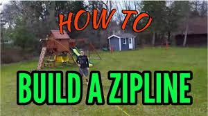 insane homemade zip line you