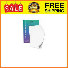 Premium Printable Vinyl Sticker Paper For Your Inkjet Printer 15 Matte White For Sale Online