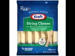 mozzarella string cheese nutrition