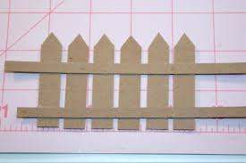 How To Make A Picket Fence Rolled Paper Art Picket Fence Decor Diy Fence