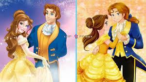 Cartoon Disney Couples As Anime 2019