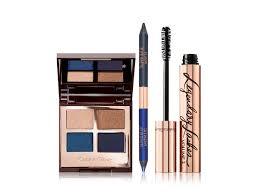 blue smokey eye makeup for brown eyes