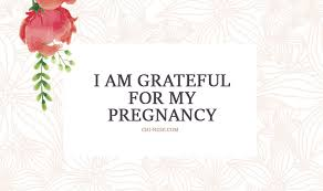 wonderful pregnancy affirmations for a peaceful stress