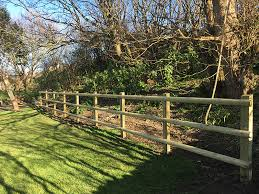 Post And Rail Fencing Timber Commercial Fencing Jacksons Security Fencing