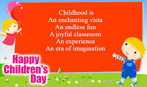 A similar event, universal children's day, falls on 20 november. Pin On Childrens Day Quotes