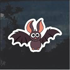 Cute Bat Window Decal Sticker Custom Sticker Shop
