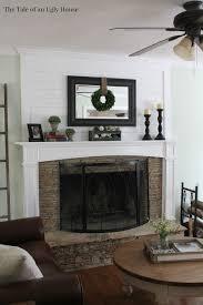 above fireplace decor